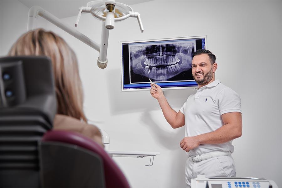 Ilhami Aben - Zahnarzt und Implantologe - Leistungen